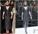 Kate Moran  In  Chanel  @ 'Knife + Heart (Un Couteau Dans Le Coeur)' Cannes Film Festival Premiere