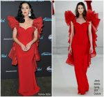 Katy Perry In  Alexis Mabille  @  American Idol
