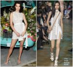 Kendall Jenner In Elie Saab  @ Tiffany & Co. Paper Flowers Event And Believe In Dreams Campaign Launch