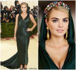 Kate Upton  In Zac Posen  @ 2018 Met Gala