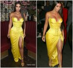 Kim Kardashian In Versace @  The Business Of Fashion Celebrates 'The Age Of Influence'