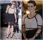 Kristen Stewart  In Chanel @  2018 Cannes Film Festival Jury Dinner