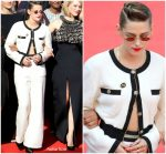 Kristen Stewart  In Chanel @  Jurors Protest At The 'Girls Of The Sun (Les Filles Du Soleil)' Cannes Film Festival Premiere