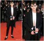 "Kristen Stewart  In Chanel  @ "" Knife and Heart "" Cannes Film Festival Premiere"