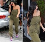 Kylie Jenner In  Y/Project  Out In New York