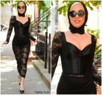 Lady Gaga In Dolce & Gabbana Out In Soho New York