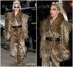 Lady Gaga In  Gareth Pugh  Out In New York