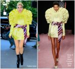 Lady Gaga in Viktor & Rolf Couture   Out In New York