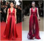 Laetitia Casta In Alexander McQueen @ Sink Or Swim (Le Grand Bain) Cannes Film Festival Premiere