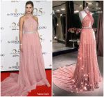 Lala Rudge  In Ali Karoui Couture   @ 2018 DeGrisogono Cannes Party