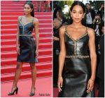 Laura Harrier  In Louis  Vuitton  @ 'The Man Who Killed Don Quixote' Cannes Film Festival Premiere & Closing Ceremony