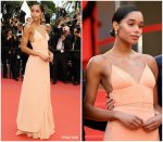 Laura Harrier In Louis Vuitton  @ 'Blackkklansman' Cannes Film Festival Premiere