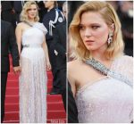 Léa Seydoux In Louis Vuitton @ 'Everybody Knows' Cannes Film Festival Screening