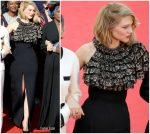 Léa Seydoux  In Louis Vuitton @  @ Jurors Protest At The 'Girls Of The Sun (Les Filles Du Soleil)' Cannes Film Festival Premiere