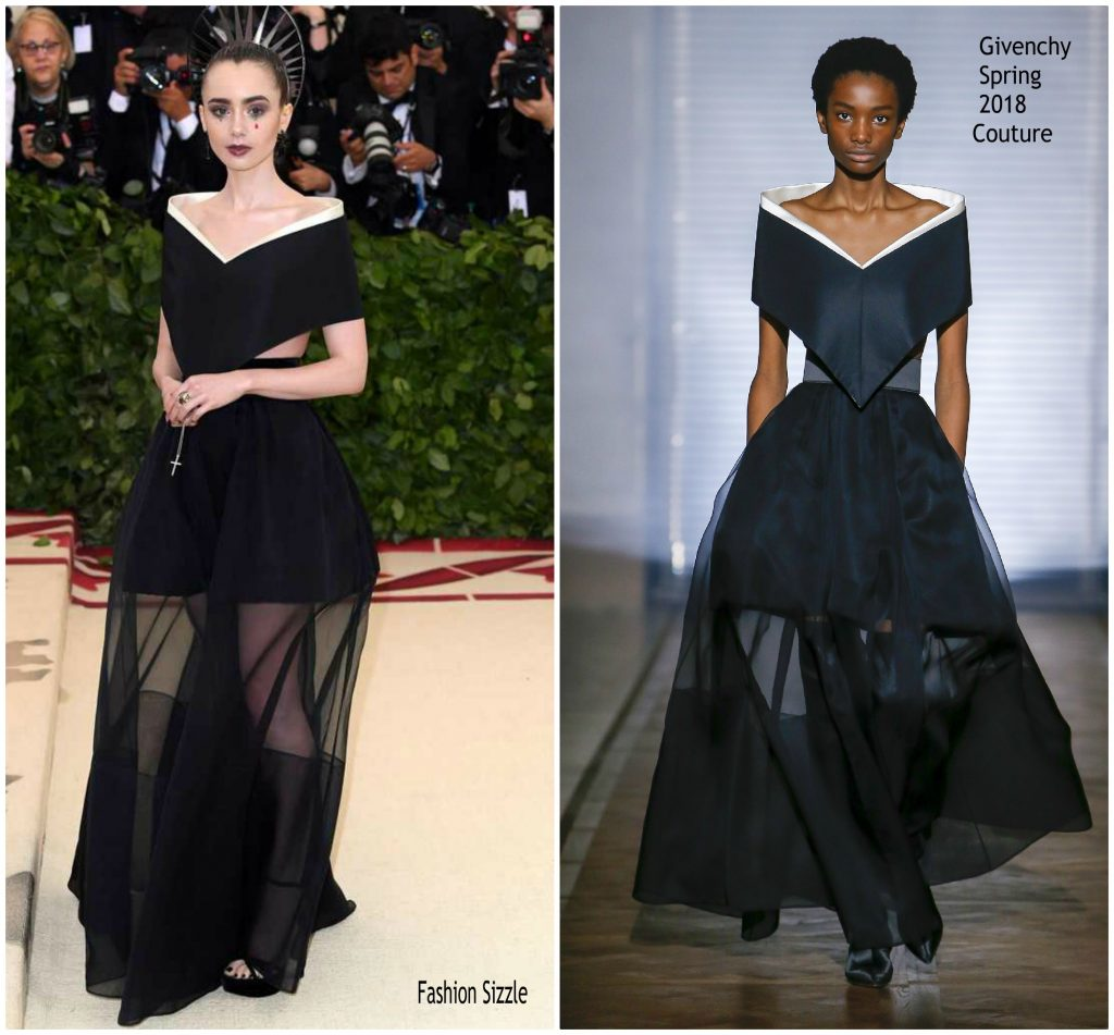 Lily Collins In Givenc...