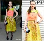 Lily Collins In Prada   Front Row  @ Prada Resort 2019