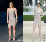Lily-Rose Depp In Chanel @ Chanel Resort 2019 Fashion Show In Paris