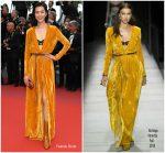 "Liu Wen  In Bottega Veneta  @ ""Solo : A Star Wars Story"" Cannes Film Festival Premiere"