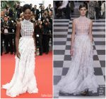 Lupita Nyong'o In Christian Dior Couture  @ 'Sorry Angel (Plaire, Aimer Et Courir Vite)' Cannes Film Festival Premiere