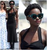Lupita Nyong'o  In Miu Miu @ '355' Cannes Film Festival Photocall