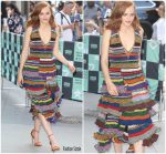 Madeline Brewer  In Missoni  @ AOL Build Series Studio in New York