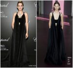 Marion Cotillard  In Valentino Couture   @ Chopard Secret Night  Party  2018 Cannes Film Festival