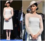 Meghan, Duchess of Sussex In Goat  @ The Prince Of Wales' 70th Birthday Patronage