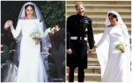 Meghan Markle Weds Prince Harry  Wearing  Givenchy