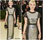 Michelle Williams  In Louis Vuitton  @ 2018 Met Gala