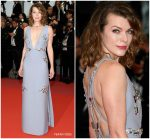 "Milla Jovovich In Prada  @  ""Burning "" Cannes Film Festival Premiere"