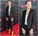 Millie Bobby Brown In Thom Browne  @ 'Stranger Things 2' Panel At Netflix FYSEE