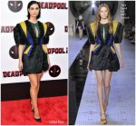 Morena Baccarin In Dice Kayek Couture  @ 'Deadpool 2' New York Screening