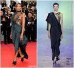 Naomi Campbell In Poiret  @  'Blackkklansman' Cannes Film Festival Premiere