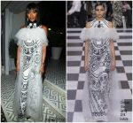 Naomi Campbell  In Christian Dior Couture  @ Madame Figaro X Dior Cannes Film Festival Dinner 2018