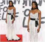 Naomi Campbell  In Dolce and Gabbana  @ Fashion  For Relief  Cannes 2018