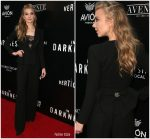 Natalie Dormer In Elisabetta Franchi  @ 'In The Darkness' LA Premiere