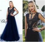 Natasha Poly  In  Versace  @  amfAR Gala Cannes 2018