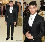 Nick Jonas  In Dolce and Gabbana  @ MetGala 2018