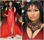 Nicki Minaj  In Oscar De La Renta @ 2018 Met Gala