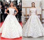 Nicole Scherzinger  In ASHI Studio Couture  @ 'Blackkklansman' Cannes Film Festival Premiere