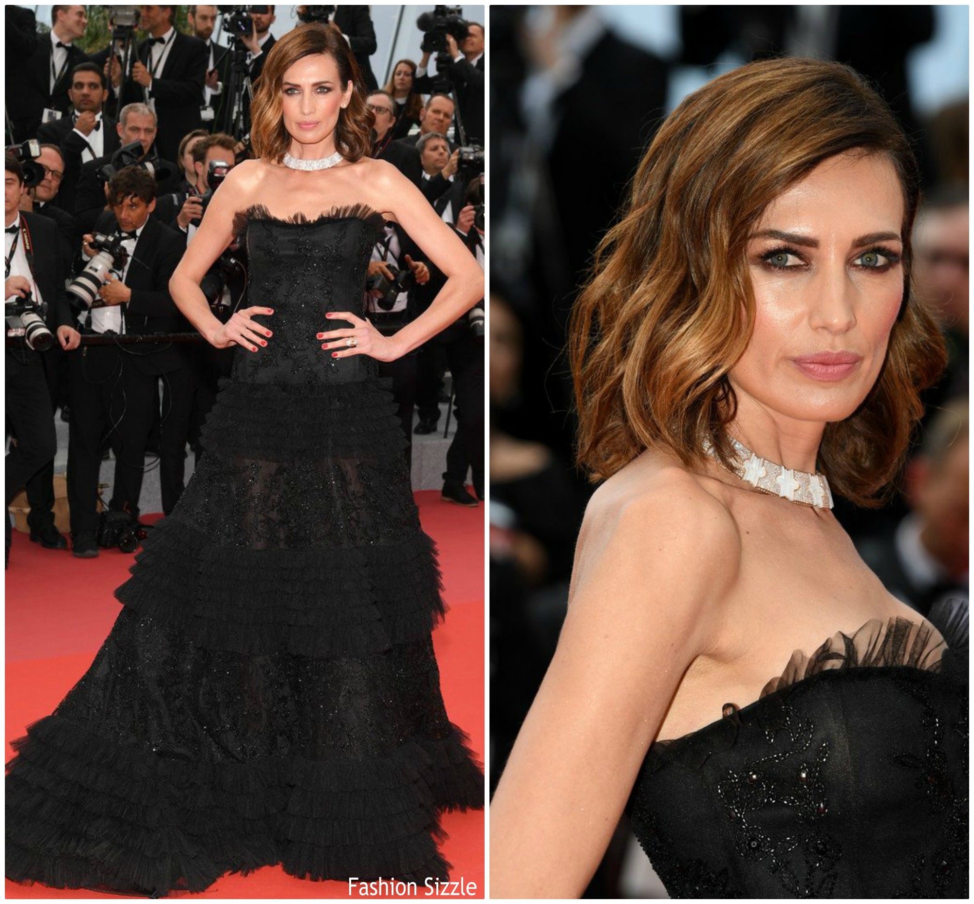 nieves-alvarez-in-alberta-ferretti=yomeddine-cannes-film-festival-screening