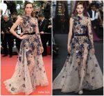 Nieves Alvarez In Elie Saab Couture  @ 'Sorry Angel (Plaire, Aimer Et Courir Vite)' Cannes Film Festival Premiere