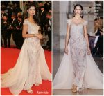 "Ola Farahat  In Georges Hobeika Couture  @  "" The House That Jack Built"" Cannes Film Festival Premiere"