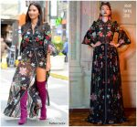 Olivia Munn In  Abodi Out In New York