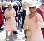 Oprah Winfrey In Stella McCartney  @ Prince Harry & Meghan Markle's Royal Wedding