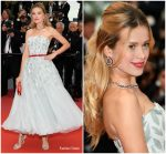 "Petra Němcová In Georges Chakra Couture @   ""Burning "" Cannes Film Festival Premiere"