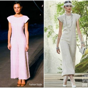 phoebe-tonkin-in-chanel-chanel-resort-2019-fashion-show-in-paris