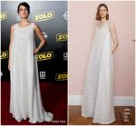 Phoebe Waller-Bridge In Adam Lippes  @ 'SOLO: A Star Wars Story' LA Premiere