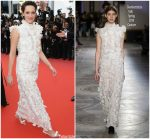 Phoebe Waller-Bridge  In  Giambattista Valli  Haute Couture @ 'Solo: A Star Wars Story' Cannes Film Festival Premiere