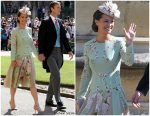 Pippa Middleton In The Fold  @ Prince Harry & Meghan Markle's Royal Wedding